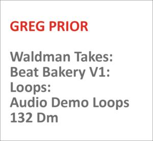 Waldman Takes: Beat Bakery V1: Loops: Audio Demo Loops